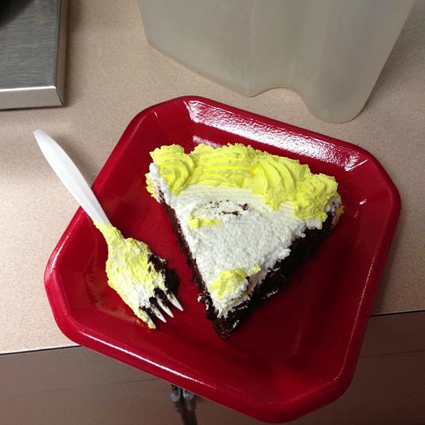 I ate some cake..