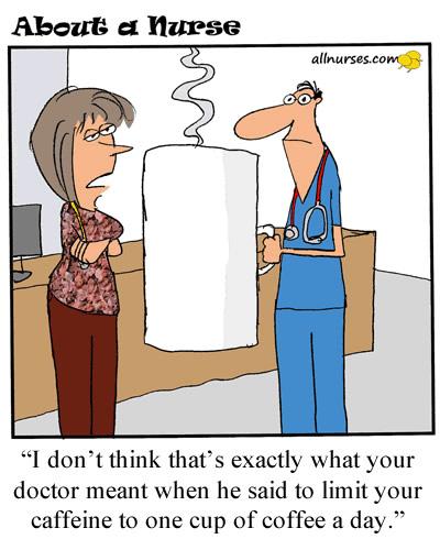 Nursing After Drinking Coffee
