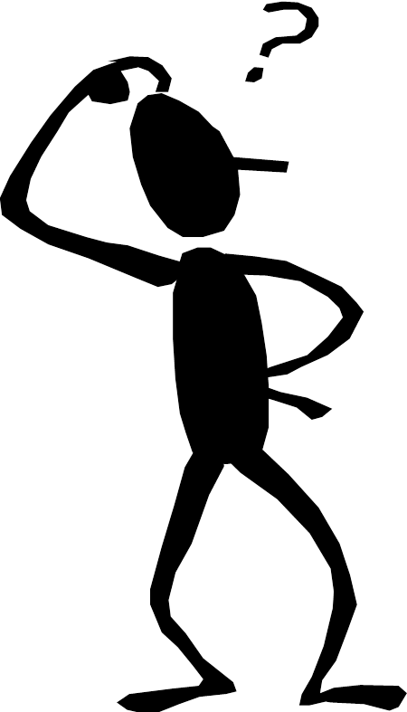 Stick Figure Question Mark